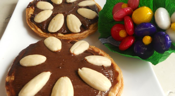 crostatine cioccolato e mandorle 008