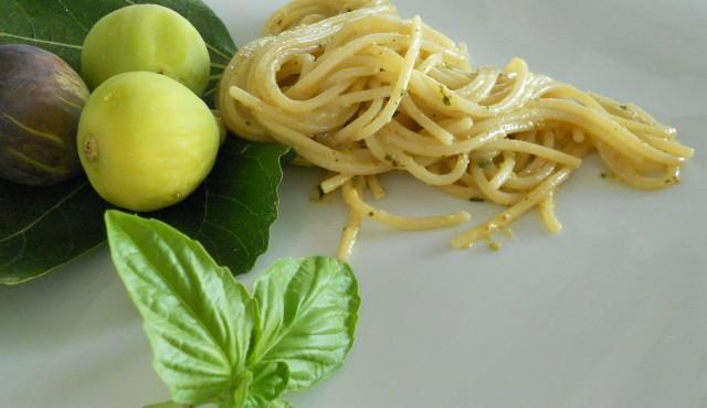 spaghetti ai fichi