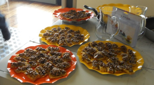 crostoni di pane con la fagiolina