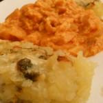 uova al purgatorio e tortino di patate al gorgonzola 010