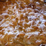 torta di pere e yogurt