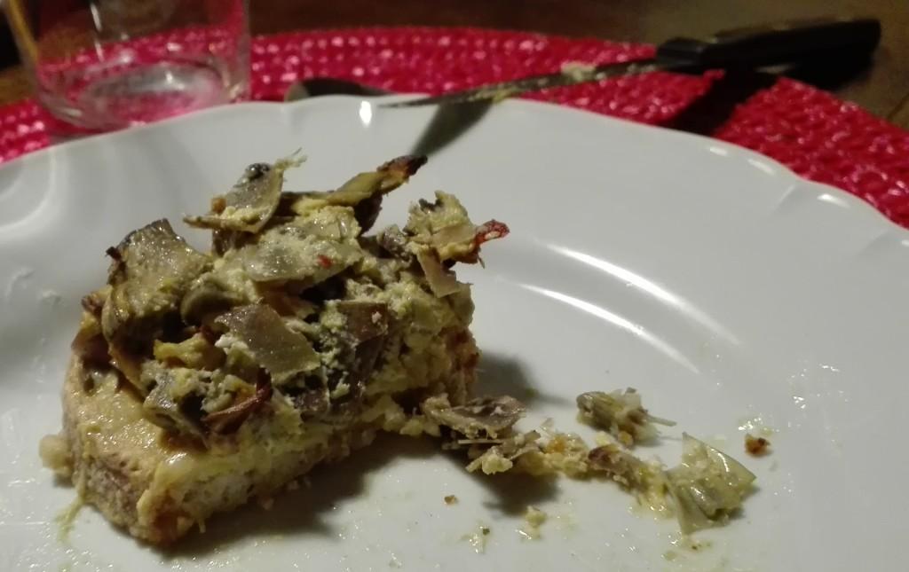 crostoni ai carciofi